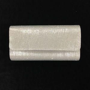 Silver Sparkle Evening Clutch
